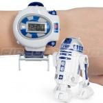 R2-D2 Whizzwatch on rannekello radio-ohjattavalla robotilla