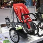 Eurobike 2008: Hollantilainen Taga on lastenrattaiksi muuntuva polkupyörä