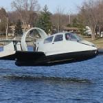 19XRW Hoverwing on ilmatyynyaluksen ja lentokoneen risteytys