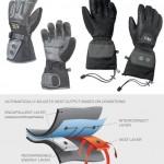 Aevex Intelligent Heat -hansikkaat lämmittävät sieltä missä on kylmä