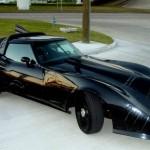 Vuoden 1978 Corvette muunnettuna Batmobile-autoksi 1