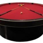 JM Billiard valmistaa pyöreitä biljardipöytiä