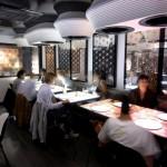 Lontoolainen inamo-ravintola käyttää sisustuksessaan ja ruokalistassaan kosketusnäyttöjä 3