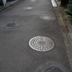 Maailman tiheiten viemärikaivotettu katu on Tokiossa 1
