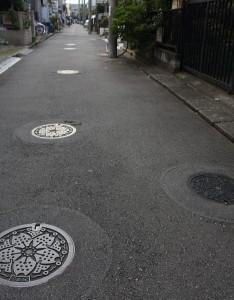 Maailman tiheiten viemärikaivotettu katu on Tokiossa 4
