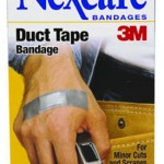 Nexcare Duct Tape Bandage on jesarilaastari