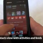Nokia 5800 ExpressMusic kosketusnäyttöpuhelimen käyttöliittymä demottuna videolla