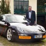 Sähköllä kulkeva Porsche 911