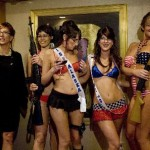 Sarah Palin Look-a-like Strip Contest Las Vegasissa