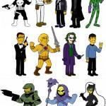 Dean Fraser piirtää Springfield Punx -blogissaan uusia Simpsons-hahmoja