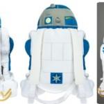 Tähtien sota R2-D2-reppu näyttää hyvältä