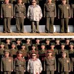 Onko Kim Jong-Il asetettu kuvaan kuvamanipulaatiolla