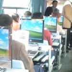 Microsoft-bussissa työt alkavat jo työmatkalla