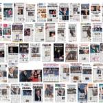 Obama kaappasi lehtien etusivut