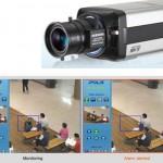 Samsung SNC-570 valvontakamera tallettaa tiedon poistuvista esineistä