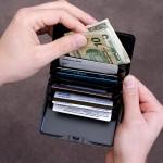 Aluminum Hard-Side Wallet – lompakko alumiinista