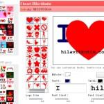 I Love Maker – Tee oma sydän-logosi