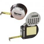 Turner-mittanauha valolla, laskimella, vihkolla ja kynällä