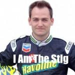Top Gearin Valkoinen Stig on kilpa-ajaja Ben Collins