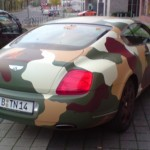 Bentley Continental GT maastokuvioituna 2