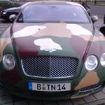 Bentley Continental GT maastokuvioituna 3