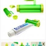 Rolling Toothpaste Squeezer hyödyntää hammastahnatuubin koko sisällön