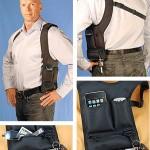 e-Volve Gadget Shoulder Holster on Wannabe-agentin laitekotelo