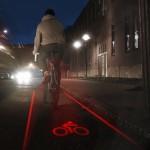 Light Lane konsepti piirtää valolla pyörätien