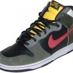 Nike Dunk High Premium SB Boba Fett -koristossut