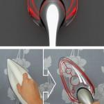 B-IRON 725 Transparency Iron on läpinäkyvä silitysrauta