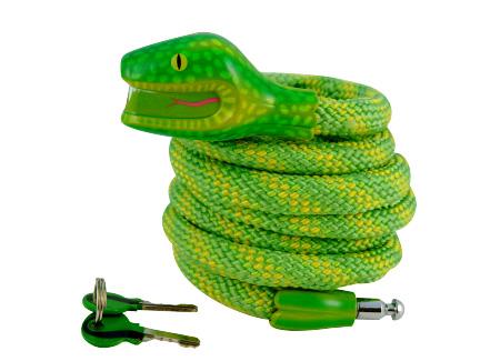 snake_bike_lock_vaijerilukko