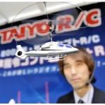 Ääni-ohjattavat minihelikopterit tekevät tuloaan