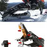 2Moto RadiX Kit tekee crossipyörästä lumipyörän