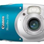 Canon PowerShot D10 on vesitiivis kymmeneen metriin saakka