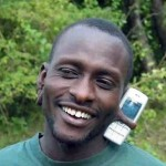 Kännykkä-handfree omasta takaa