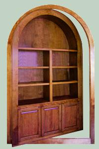 The Hidden Door Company valmistaa piilo-ovia 2