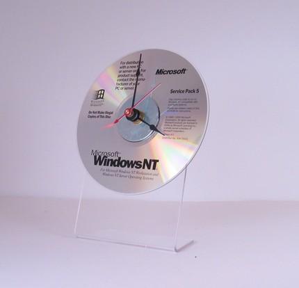 Microsoft Windows NT 4 CD Rom Clock