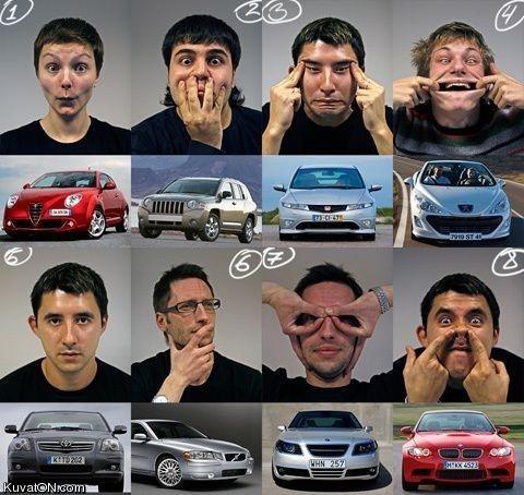 Autojen ilmeitä