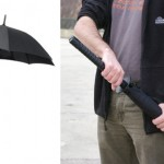 Samurai Sword Handle Umbrella onkin tavallinen sateenvarjo