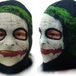 Dark Knight Joker -lasketteluhuppu ja -pipo