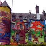 The Graffiti Project On Kelburn Castle - Graffititaidetta historialliseen linnaan Skotlannissa 5