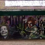 The Graffiti Project On Kelburn Castle – Graffititaidetta historialliseen linnaan Skotlannissa