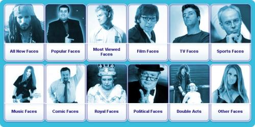 Fake Faces tarjoaa feikki-julkkiksia