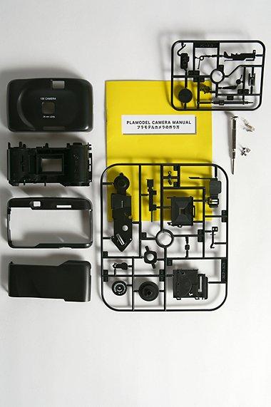 SuperHeadz Plamodel DIY 35mm Camera on koottava kamera 1
