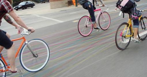 Contrail - Biking Community Tool on liitua tiessä 1