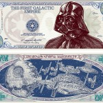 The First Galactic Empire -seteli Darth Vaderin kuvalla