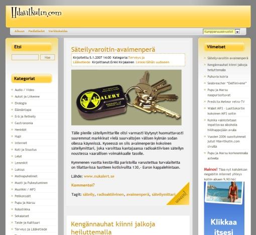 Hilavitkutin.com 2007