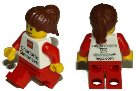 Lego-pomot ja -pr-ihmiset saavat itsensä näköisen lego-ukon käyntikortiksi