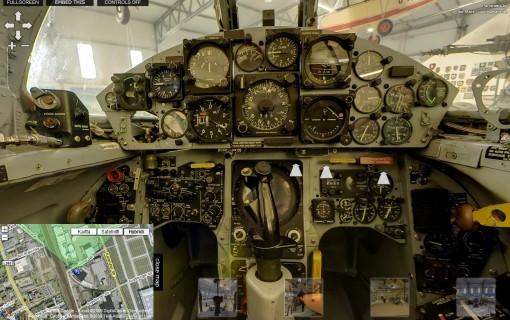 """Vieraile Lockheed F-104G """"Starfighter"""" -hävittäjän ohjaamossa 2"""