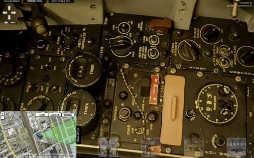 """Vieraile Lockheed F-104G """"Starfighter"""" -hävittäjän ohjaamossa 3"""